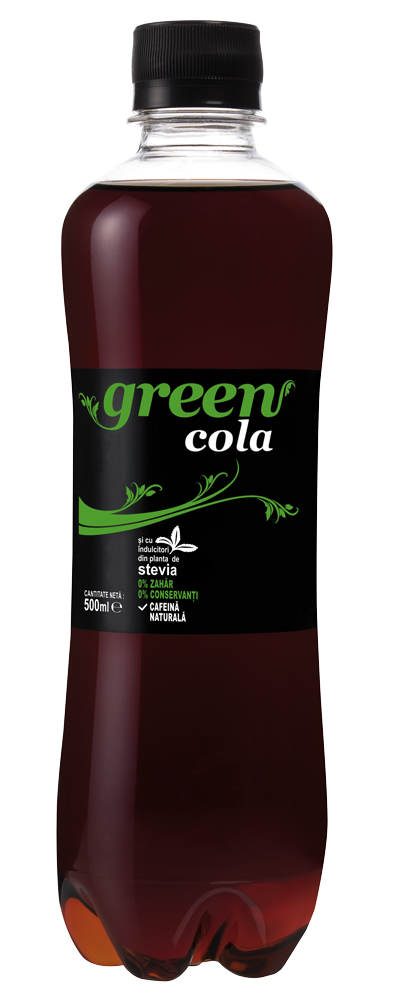 Green Cola - PET - 500ml