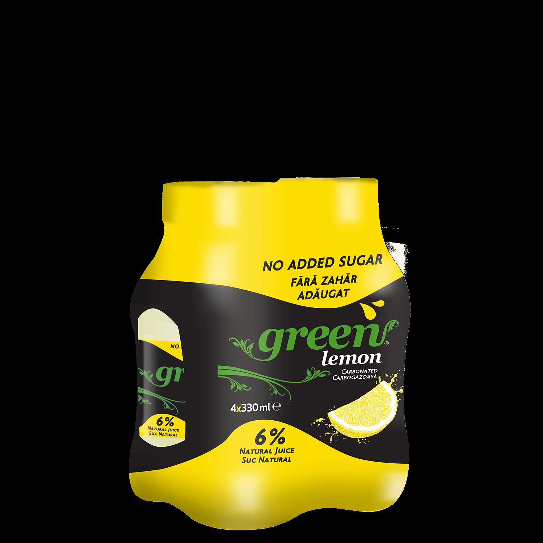Green Lemon - 4x330ml - PET